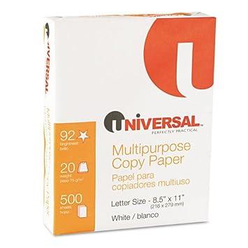 Amazon.com : UNV21200 - Universal Copy Paper : Multipurpose Paper ...