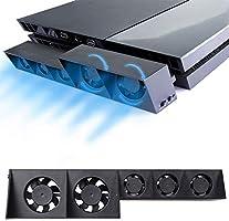 Thlevel Ventilador de enfriamiento para PS4, USB Refrigerador ...
