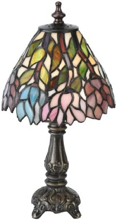 Wisteria Tiffany Mini Table Lamp