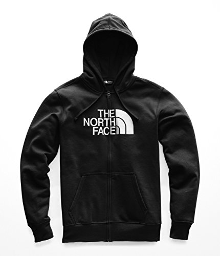 Print The North Face Jersey - The North Face Men's Half Dome Full Zip Hoodie - TNF Black & TNF White - M