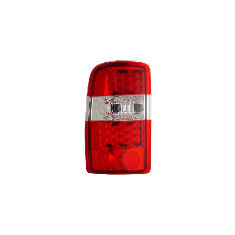 Chevrolet/Chevy Tahoe / Suburban / Gmc Denali 00 06 L.E.D Tail Lamps / Lights Red/Clear Euro Performance
