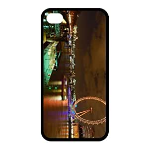 Custom Ferris Wheel Back Case for iphone4,4S JN4S-060