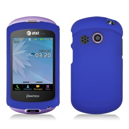 Bundle Accessory For At&T Pantech Swift P6020 - Blue Hard Case Protective Cover+ Lf Stylus Pen + Lf Screen Wiper
