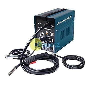 daptez RESISTENTE 120a sin gas Turbo Mig Bricolaje Metal Soldador Herramienta eléctrica 55-120a: Amazon.es: Bricolaje y herramientas