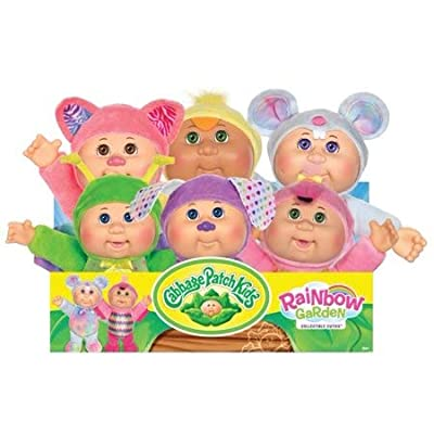 Cabbage Patch Kids Cuties Collection, Rainbow Garden Party Collection Baby Dolls (Gala Kitty #132): Toys & Games