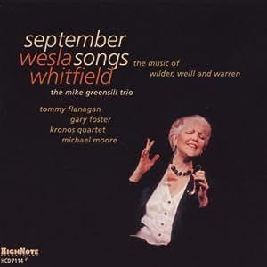 September Songs: Music of Wilder Weill & Warren
