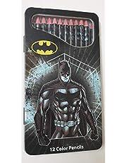 أقلام تلوين باتمان (عبوة من 12 قطعة)