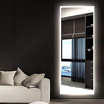 Amazon Com Neutype Led Mirror Full Length Dressing Mirror