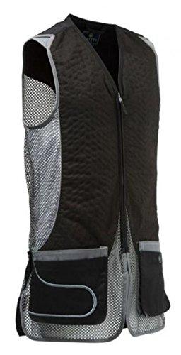 Beretta Men's Dt11 Mesh Eco Suede Vest, Black/Grey, XX-Large