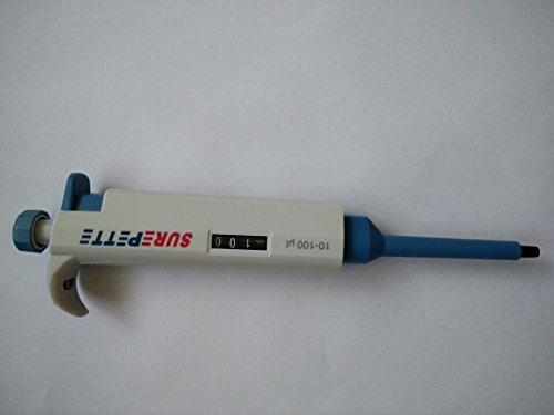 SurePette Multi-Volume Adjustable Micro Pipette 10-100ul ()