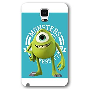 Customized White Disney Cartoon Monsters University Samsung Galaxy Note 4 Case