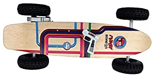 Munkyboards SK-900BL 900W Remote Controlled Electric Skateboard with Lithium Ion Battery