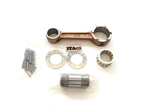 Connecting Con Rod - CONNECTING CON ROD KIT ASSY Washer 6L2-11651-00 fit Yamaha Outboard 20HP 25HP 2 stroke with washer bearing