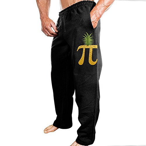 Price comparison product image Yuqickng Pi Pineapple Men's Sweatpants XL Black