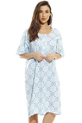 - Just Love 4360-O-10062-1X Short Sleeve Nightgown/Sleep Dress for Women/Sleepwear
