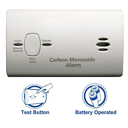 Kidde Carbon Monoxide Detector Alarm |Battery Operated | Model #