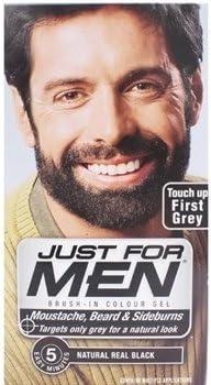 Tinte para barba, bigote y patillas Just For Men Real Black M 55