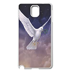 White Dove Unique Design Cover Case for Samsung Galaxy Note 3 N9000,custom case cover ygtg584187