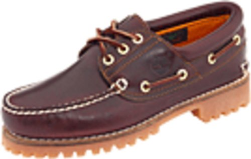 Timberland Men's Traditional Handsewn 3-Eyelet Classic Lug, Burgundy/Brown, 13M (Timberland White Boat Shoes)