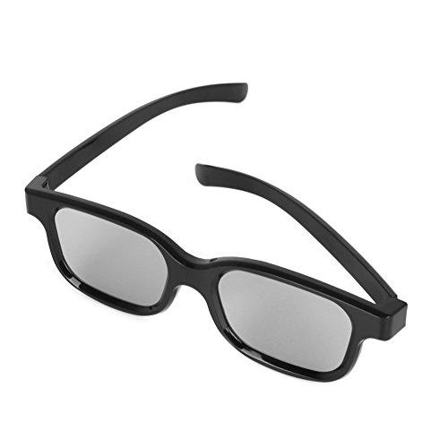 3D para de D pasivas polarizadas 3D Runrain Gafas calidad TV H3 Cinemas alta Real qBF8I71w