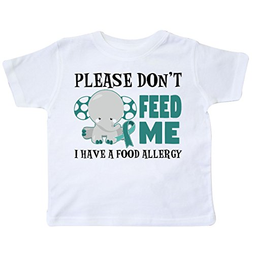 inktastic Please Dont Feed Me I Have a Food Allergy Toddler T-Shirt 5/6 - Allergies Food Toddlers