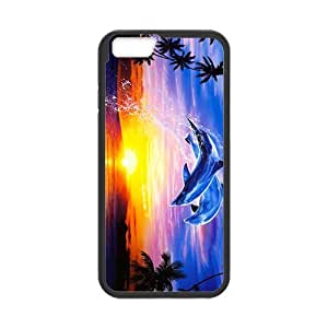 Beautiful leaping dolphins Case for Iphone 6 by lolosakes