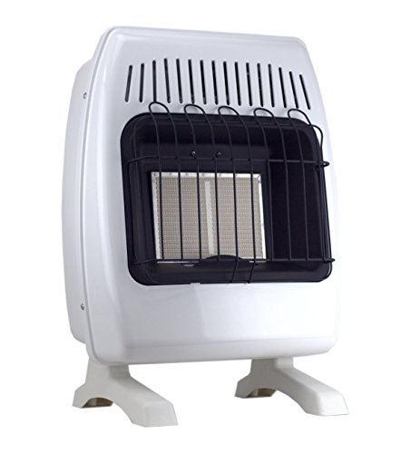 SUPERSPACE GCIR10DM 10,000 BTU Natural Propane Gas Wall Heater Vent-free Space Heaters Includes Wall-mounted and Base-legs (Wall Mounted Garage Gas Heaters compare prices)