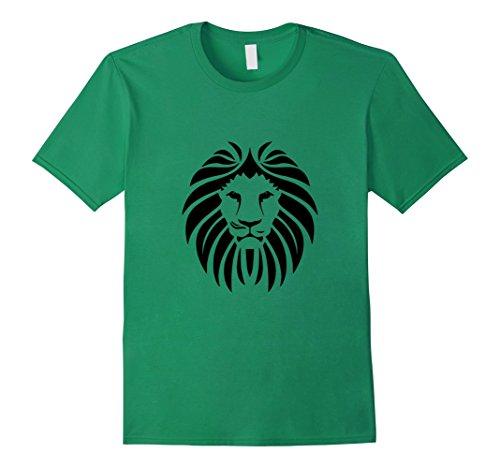 Mens Lion Face Hair T-Shirt Zoo Animal Africa Tiger Bite ...