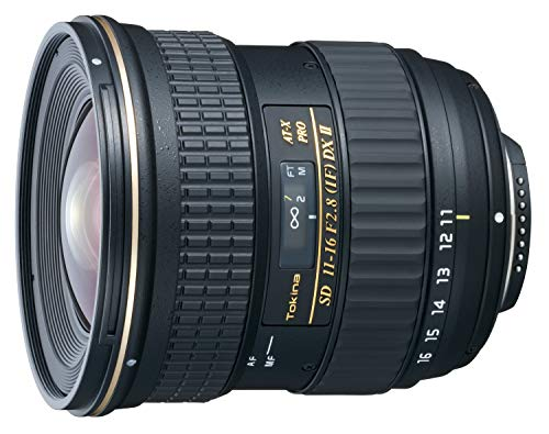 Tokina 11-16mm f/2.8 AT-X116 Pro DX II Digital Zoom Lens (AF-S Motor) (for Nikon) (Best Wide Lens For Nikon Dx)