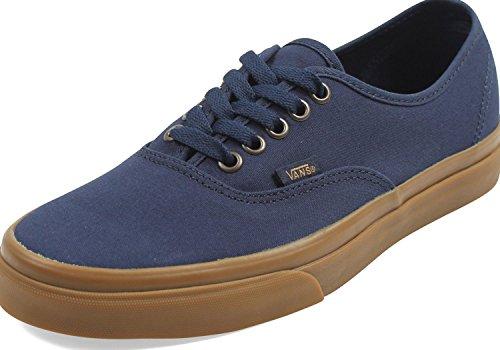 Vans - Unisex-Adult Authentic Shoes, 4.5 D(M) US Mens / 6 B(M) US Womens, (Light Gum) Dress Blues -