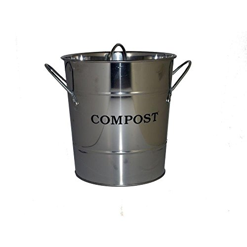 1 Cu Ft Kitchen Countertop Composter Color Stainless