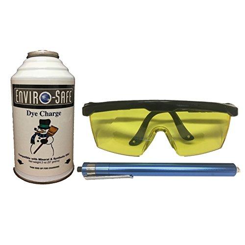 0F UV Glasses & Blacklight Kit and Dye Charge