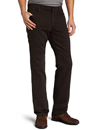 AG Adriano Goldschmied Men's Protege Straight Leg Twill Pant, Coffee, 29X34