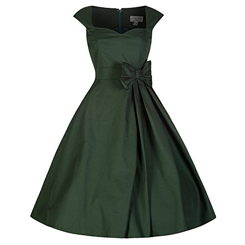 Cystyle - Vestido - trapecio - para mujer Verde