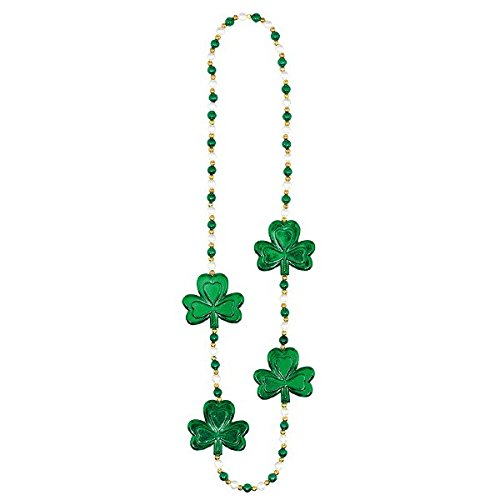 (Amscan 395387 Shamrock & Pearls Necklace, 36