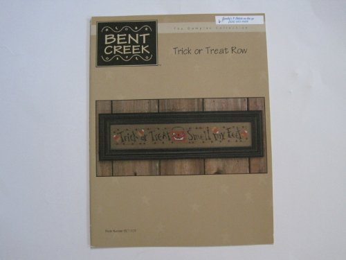 Bent Creek, The Sampler Collection: Trick or Treat Row (Halloween Stitchery) (BC (Halloween Stitchery)