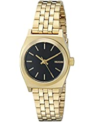 Nixon Womens Small Time Teller Quartz Stainless Steel Casual Watch (Model: A399513-00)