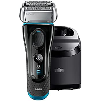 Braun Series 5 5090/5190cc Men's Electric Foil Shaver / Electric Razor with Clean & Charge Station