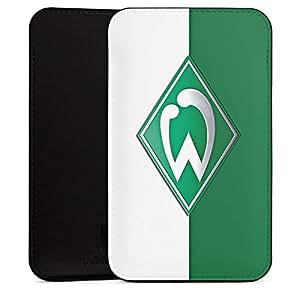 ZTE Fanfare funda Sleeve Funda Black–Werder Bremen verde de color blanco