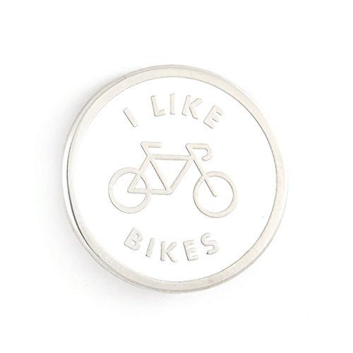 Bike Pin (These Are Things I Like Bikes Enamel Pin)