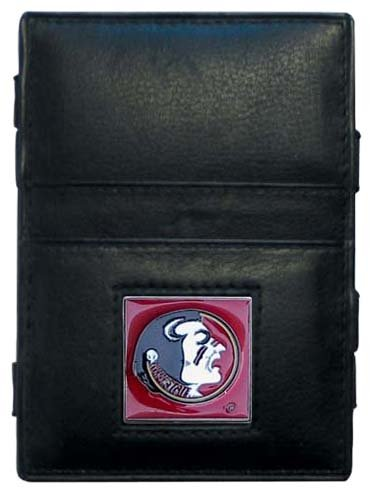 State Card Credit Florida (Siskiyou NCAA Florida State Seminoles Leather Jacob's Ladder Wallet)