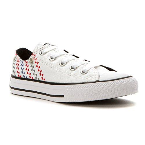 Converse 3j237 - Zapatillas para niño gris gris White/Casino/Black