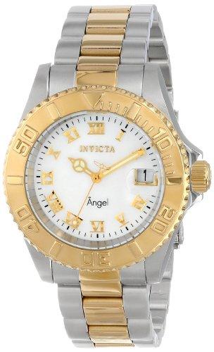 Invicta Women's 14364 Angel Analog Display Swiss Quartz Two Tone Watch ()