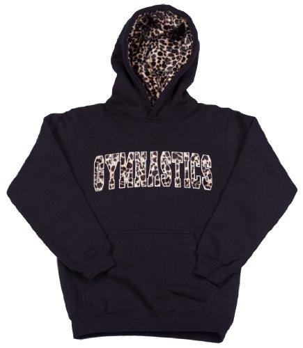 Lizatards Fur Lined Hood Gymnastics Hoodie Sweatshirt