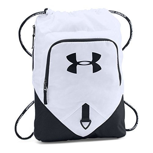 Under Armour Undeniable Sackpack, White/Black, One Size