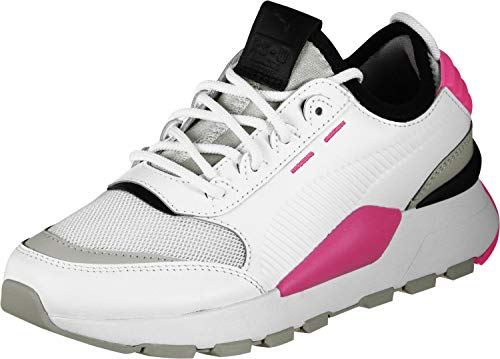 Rs-0 Pumas Unisexe Adulte Sneaker Sonore, Blanc