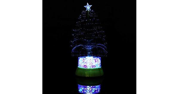 Amazon.com: Lámpara de mesa con luces LED que cambian de ...