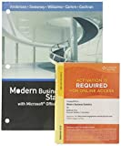 Bundle: Modern Business Statistics with Microsoft Office Excel, Loose-Leaf Version, 6th + CengageNOW, 2 terms Printed Access Card