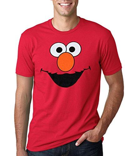 Sesame Street Elmo Adult T Shirt