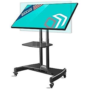 ONKRON TS1330 Pied de TV inclinable sur roulettes pour des écrans de 32 à 65 pouces NOIR